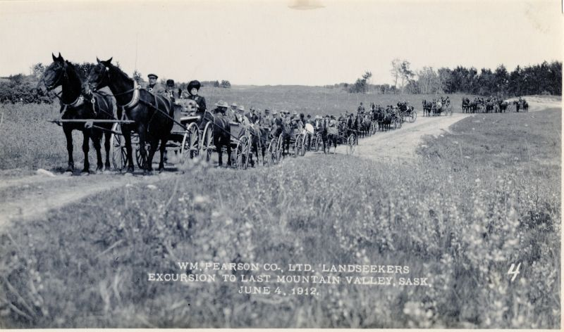 William Pearson Company land seekers excursion, 1912